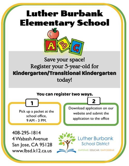 Luther Burbank School District Overview